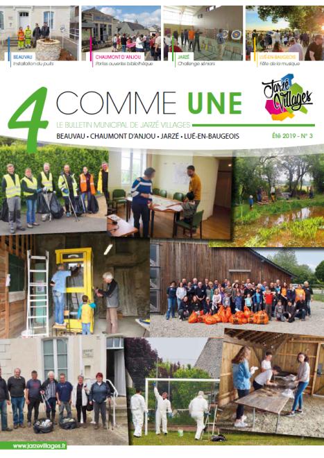 4 comme Une n°3 - Eté 2019 -  PDF - 6.1 Mo