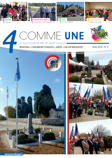 4 comme Une n°2 - Hiver 2018 -  PDF - 9.1 Mo