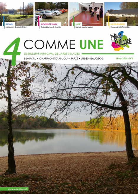 4 comme Une n°6 - Hiver 2020 -  PDF - 15.5 Mo