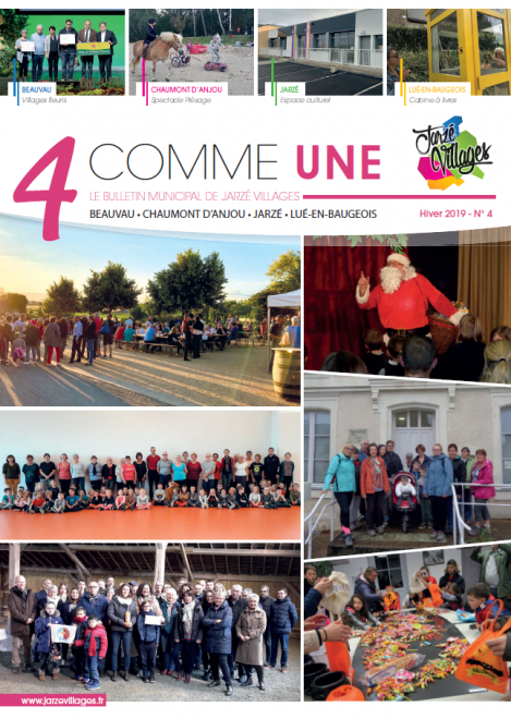 4 comme Une n°4 - Hiver 2019 -  PDF - 14.6 Mo